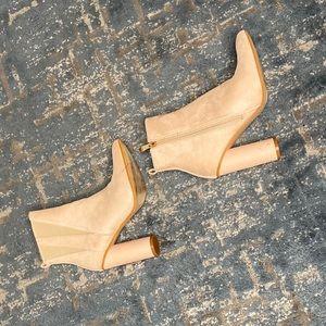 Light cream Beige Boots